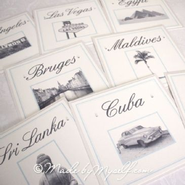 Bespoke 'Adventures' Travel Table Name